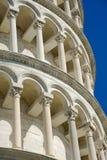 Lutande torn av Pisa Royaltyfri Foto