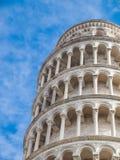 Lutande torn av Pisa Royaltyfria Foton