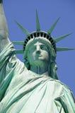 Lutas da senhora Liberdade para a liberdade Imagens de Stock