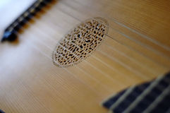 Lute. Close-up with selective focus Stock Photo