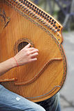 Lute Player royalty free stock photos