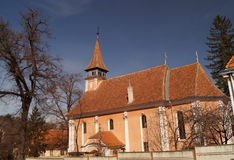 Luterański Ewangelicki kościół Zdjęcia Stock
