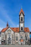 Luterański kościół wybawiciel Zdjęcia Royalty Free
