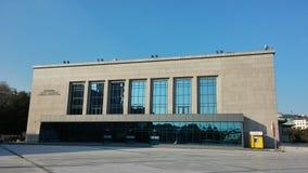 Lutfi Kirdar Congress Hall, Istanbul, Turkey Stock Photography