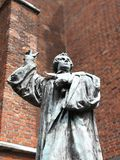 luther άγαλμα Martin Στοκ Φωτογραφίες