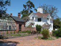 Luther Burbank Home & Serre royalty-vrije stock foto
