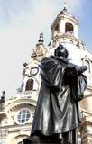 Luther drezdeński Zdjęcia Royalty Free