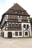 Luther hus i den Eisenach Tyskland Arkivfoton