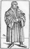 Luther in 1546 vector illustration
