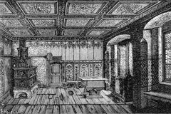Luther's room Stock Images