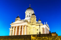 Lutheran Cathedral Church in Helsinki, Finland Royalty Free Stock Images