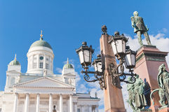 Lutheran Cathedral.Helsinki. Royalty Free Stock Images