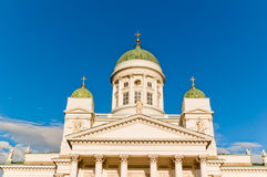 Lutheran Cathedral . Helsinki. Stock Photography