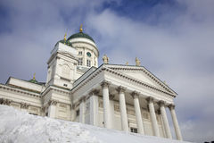 Lutheran cathedral of helsinki Royalty Free Stock Photos