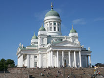 Lutheran cathedral in Helsinki Royalty Free Stock Image