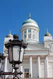 Lutheran Cathedral of Helsinki Finland Royalty Free Stock Photos