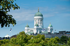 Lutheran Cathedral, Helsinki, Finland Stock Photography