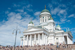 Lutheran Cathedral, Helsinki, Finland royalty free stock photos