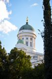 The Lutheran Cathedral in Helsinki Royalty Free Stock Photography