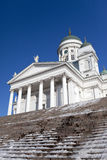Lutheran cathedral in Helsinki, Finland Stock Images