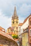 Lutheran Cathedral, Sibiu Stock Photos