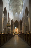 In the Lutheran Cathedral of Turku. Finland Royalty Free Stock Photography