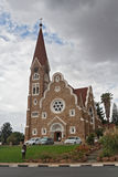 Lutheran christuskirche in Windhoek, Namibia Royalty Free Stock Photo