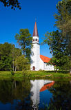 Lutheran church. In Sigulda, Latvia Royalty Free Stock Images