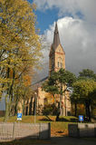 Lutheran church Stock Image