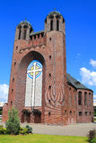Lutheran church of the Cross Royalty Free Stock Photo