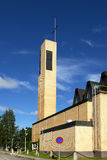 Lutheran church. (De profundis) in Kokkola, Finland Stock Photos