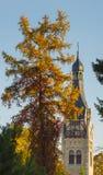 Lutheran church in Dubulti, Jurmala, Latvia stock photography