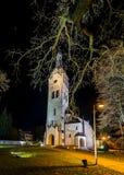 Lutheran church in Dubulti, Jurmala, Latvia Stock Photo