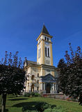 Lutheran church. Historical building of the Lutheran church Royalty Free Stock Photo
