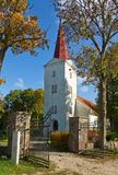 Lutheran church. Lutheran church in Kandava, Latvia Royalty Free Stock Photos