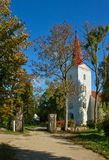Lutheran church. Lutheran church in Kandava, Latvia Stock Photos