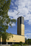 Lutheran church. In Kokkola, Finland Royalty Free Stock Photos
