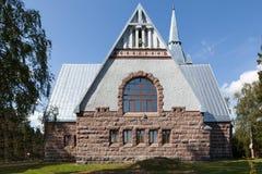 Lutheran Church Melnikovo. Leningrad region. Stock Photos