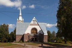 Lutheran Church Melnikovo. Leningrad region. Stock Images