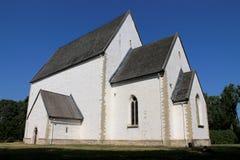 LUTHERAN CHURCH IN MUHU ISLAND, ESTONIA Stock Images