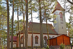 Lutheran Church of Rauschen 1907. Svetlogorsk, Kaliningrad re Stock Image