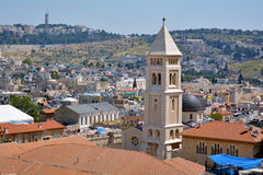 Lutheran Church of the Redeemer in old city of Jerusalem, Israel Stock Photos