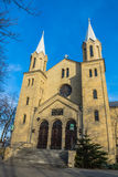 Lutheran church of Resurrection of the Lord stock images