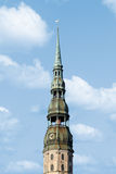 Lutheran Church of St Peter in Riga Stock Photography