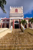 Lutheran Church in St Thomas Stock Photo