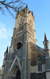 Lutheran Church. In sunny day royalty free stock photo
