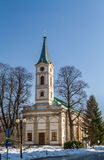 Lutheran Church in Wisla, Poland Royalty Free Stock Photo