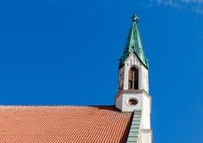 Lutheran Evangelical St. John's Church, Riga, Latvia. Royalty Free Stock Image