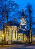 Lutheran kerk in Jurmala, Letland Royalty-vrije Stock Afbeelding