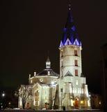 Lutheran kerk van Alexander in Narva, Estland (2) Stock Afbeelding